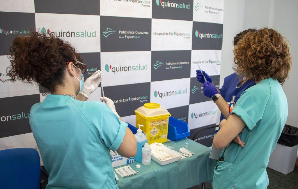 Foto de Vacunación en Policlínica Gipuzkoa