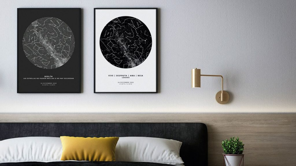 Foto de The Unique Poster - Mapas estelares personalizados