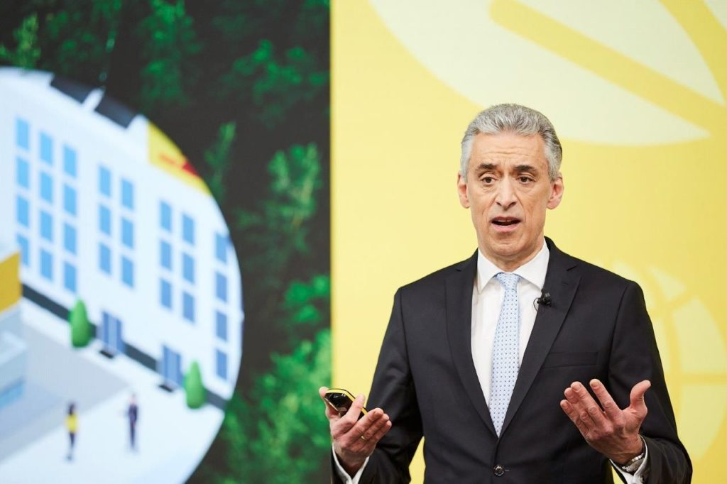 Foto de Frank Apple, CEO de Deutsche Post DHL Group
