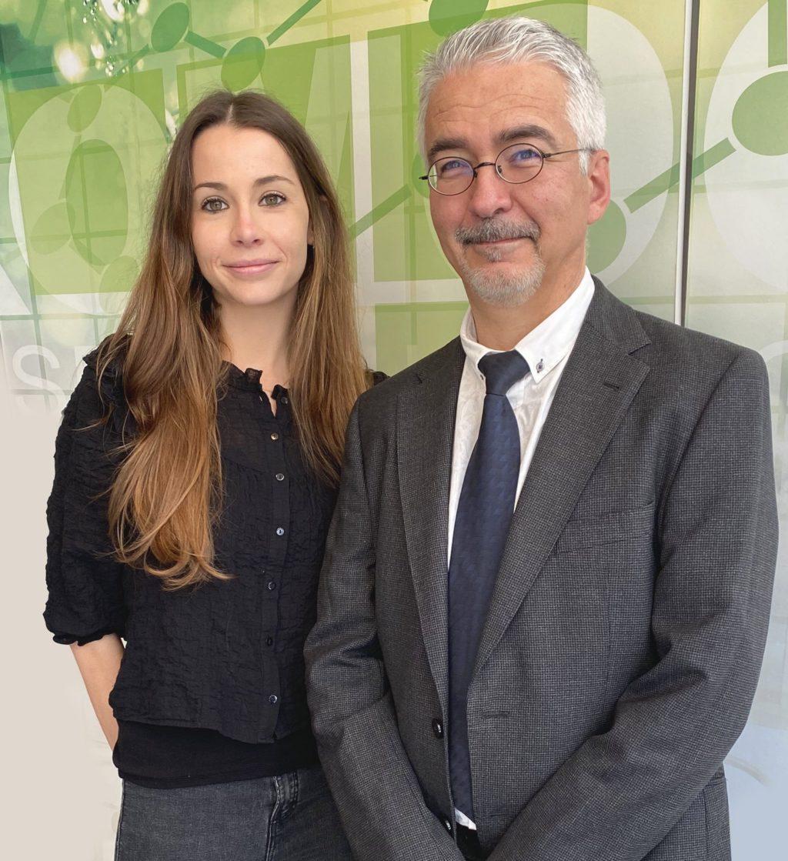 Foto de Maite Guillem y Rafael Montava de Cromogenia Units