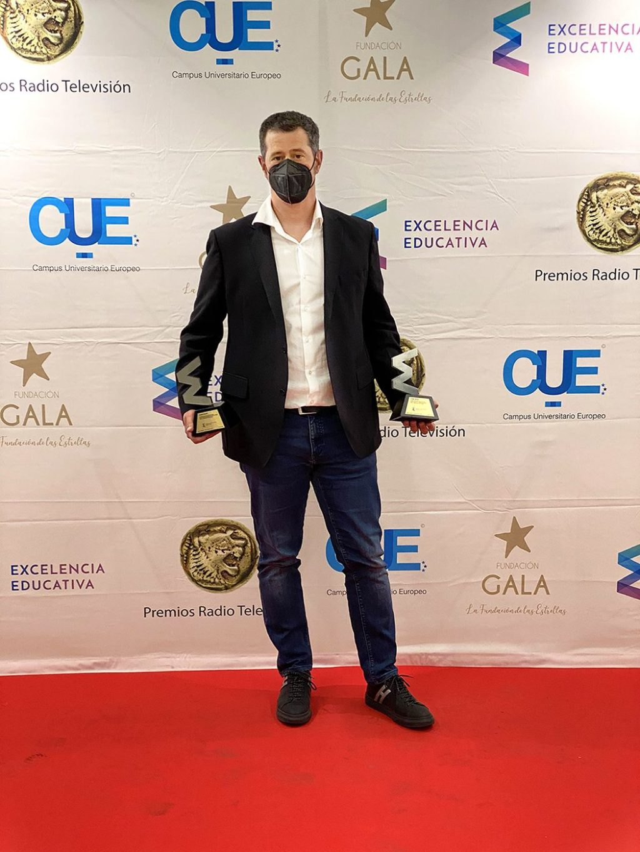 Foto de Jordi Giné, Premios Excelencia Educativa