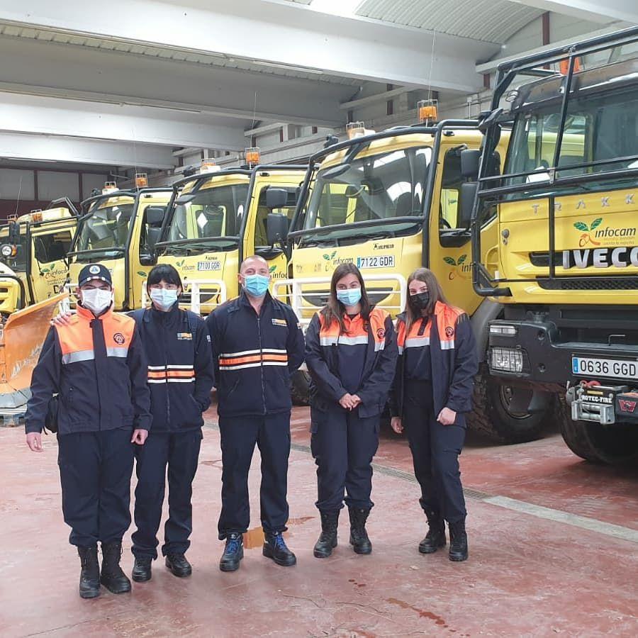 Foto de Los nuevos voluntarios de Protección Civil se forman