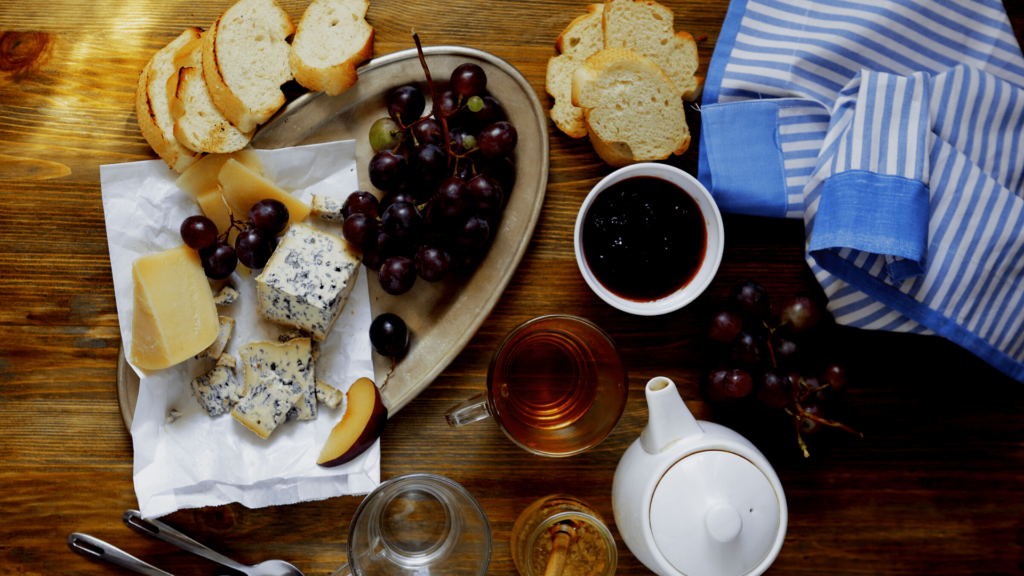 Foto de Maridaje té y queso