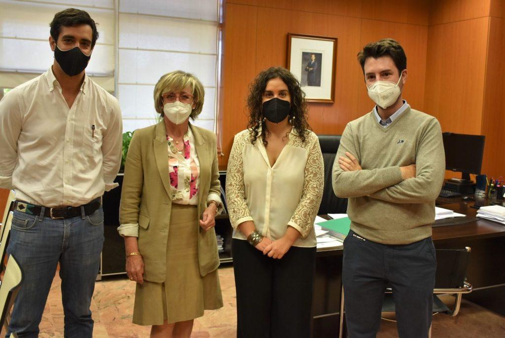Foto de El COACM se reúne con la JCCM, para dar un nuevo impulso a