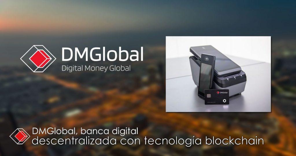 Foto de DMGlobal banca digital descentralizada con tecnología
