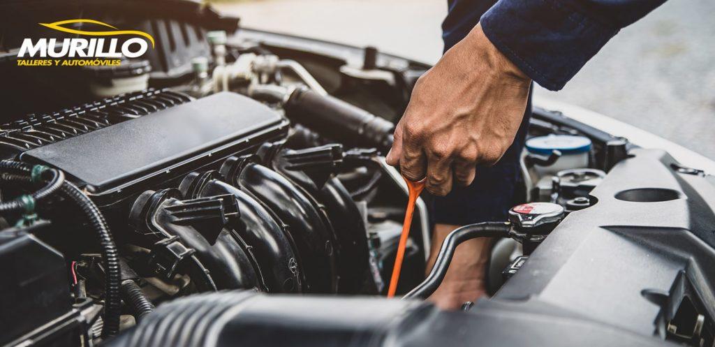 Foto de Revisar los niveles del coche y la presión de los neumáticos