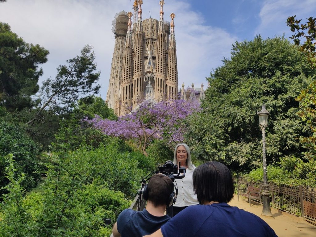Foto de Making off del spo en Barcelona