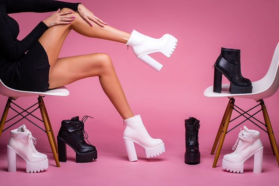 Foto de botas de mujer
