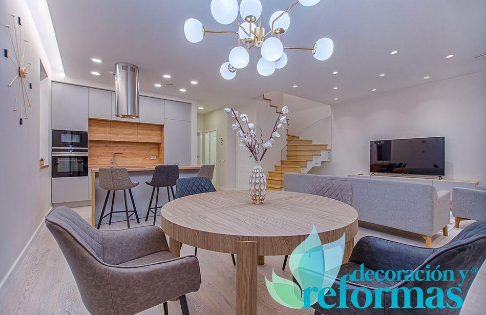 Foto de Ideas para un salón moderno y de diseño, por Decoración y