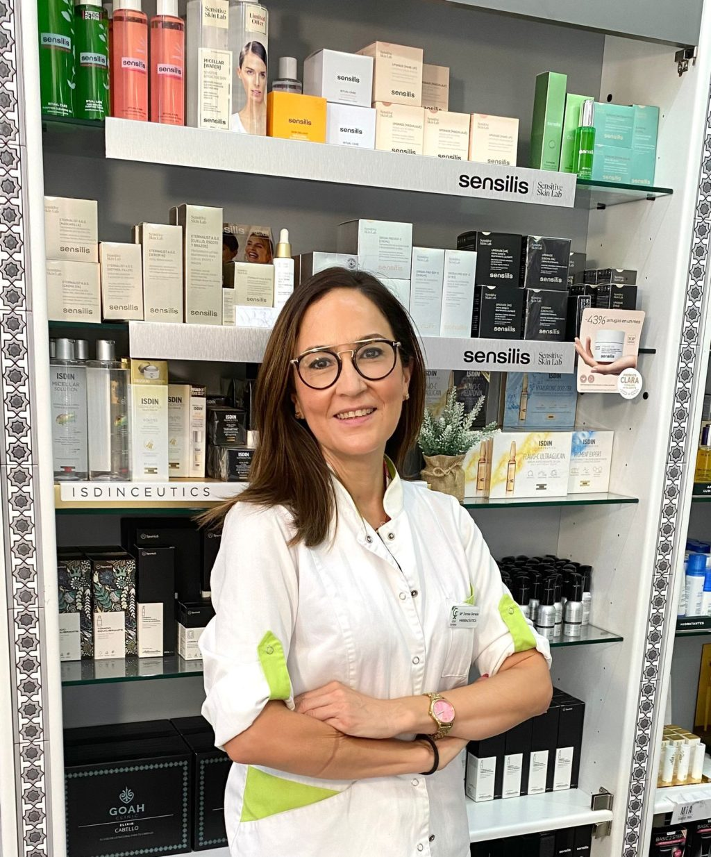 Foto de Foto de María Teresa Dorad, farmacéutica titular de