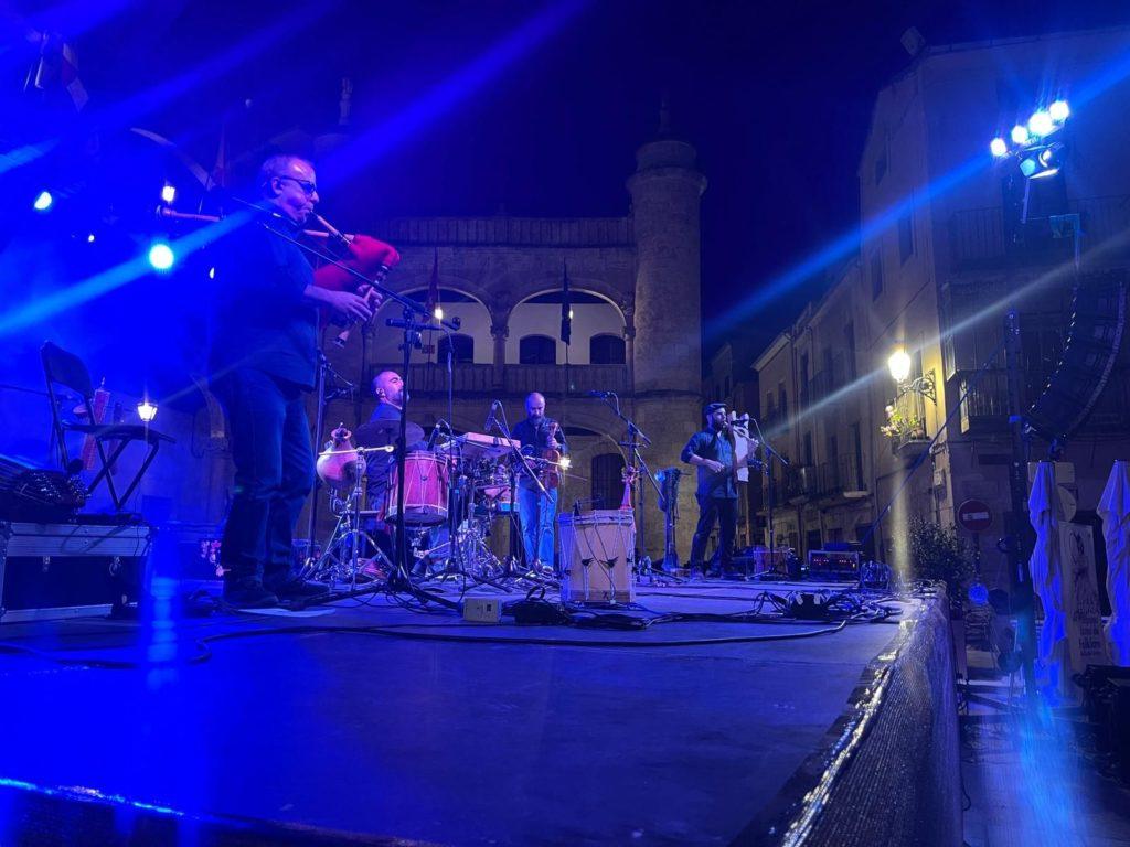 Foto de La Red Medieval se llena de música con la puesta en marcha