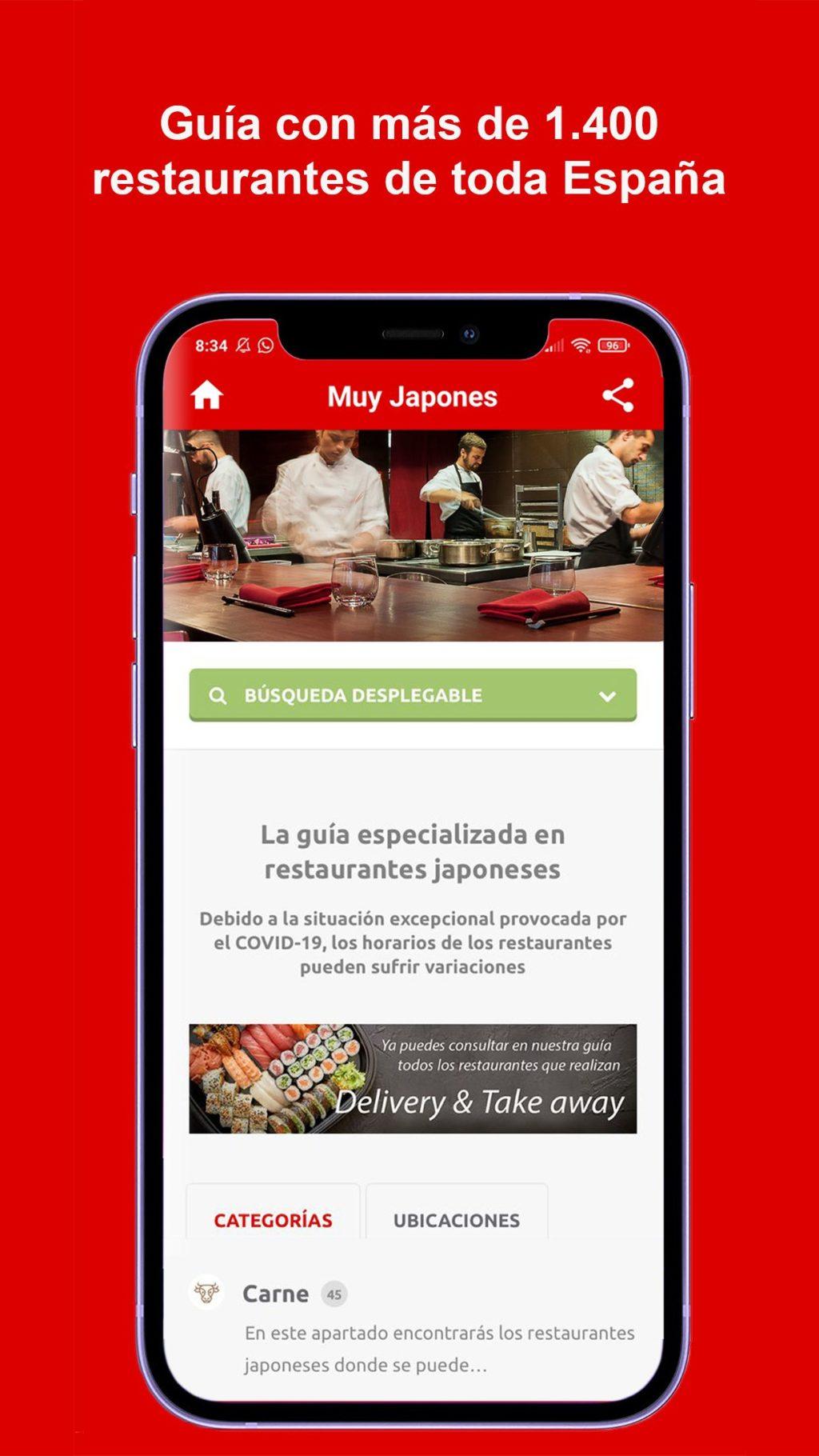 Foto de Muy Japonés presenta la primera App de restaurantes