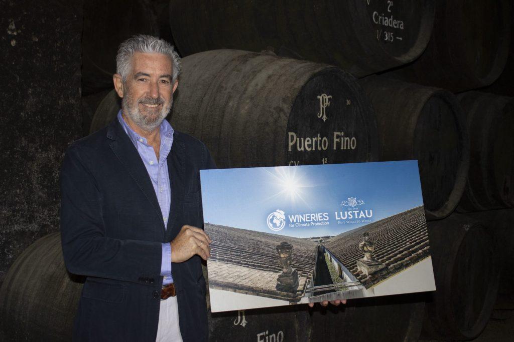 Foto de Jaime Marín, director de operaciones de Bodegas Lustau